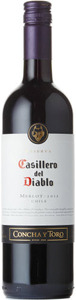 Casillero Del Diablo Merlot 2012 Bottle