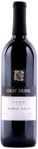 Gray Monk Gamay Noir 2009, BC VQA Okanagan Valley Bottle