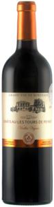 Château Les Tours De Peyrat Vieilles Vignes 2010, Ac Côtes De Bordeaux   Blaye Bottle