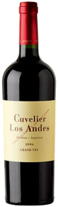 Cuvelier Los Andes Grand Vin 2006, Mendoza Bottle