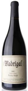 Madrigal Vineyards Petite Sirah 2008, Napa Valley Bottle