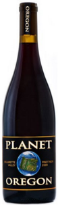Planet Oregon Pinot Noir 2011, Willamette Valley Bottle