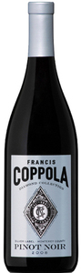Francis Coppola Diamond Collection Silver Label Pinot Noir 2012, Monterey County Bottle