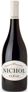 Nichol Vineyards Syrah 2010, Okanagan Valley Bottle