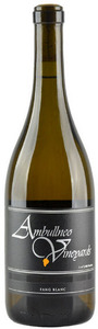 Ambullneo Vineyards Fang Blanc Santa Maria Valley 2007, Central Coast Bottle