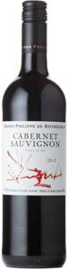 Philippe De Rothschild Cabernet Sauvignon 2012, Pays D' Oc Bottle