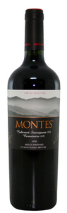 Montes Limited Selection Cabernet Sauvignon/Carmenère 2007, Colchagua Valley Bottle