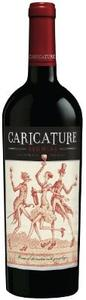 California Red   Caricature Bottle