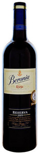 Beronia Gran Reserva 2006, Doca Rioja Bottle