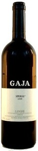 Gaja Sperss 1999, Doc Langhe Bottle