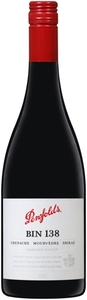 Penfolds Bin 138 Shiraz/Grenache/Mourvèdre 2011, Barossa, South Australia Bottle