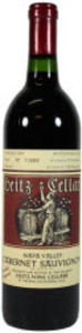 Heitz Trailside Vineyard Cabernet Sauvignon 2007, Napa Valley Bottle