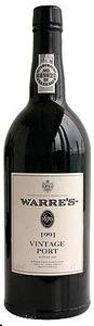 Warre's Vintage Port 1991 Bottle