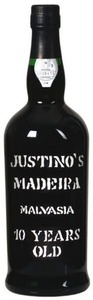 Justino's 10 Years Old Malvasia Madeira, Doc Madeira Bottle