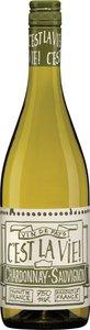 C'est La Vie Chardonnay / Sauvignon 2014 Bottle
