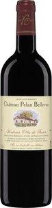 Château Pelan Bellevue 2009, Bordeaux Côtes De Francs Bottle
