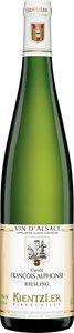 Domaine André Kientzler Riesling Cuvée François Alphonse 2009 Bottle