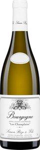 Domaine Simon Bize & Fils Les Champlains 2011 Bottle