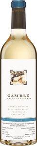 Gamble Family Vineyard Sauvignon Blanc 2008 Bottle