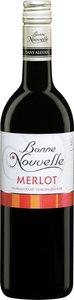Bonne Nouvelle Merlot Bottle