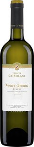 "Ca' Bolani Pinot Grigio 2012, ""Doc Friuli Aquileia, Estate Btld. "" Bottle"