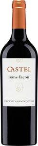 Castel Sans Façon Cabernet Sauvignon / Syrah Bottle