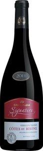 Cellier Des Dauphins Signature 2013 Bottle