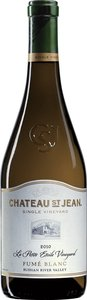 Château St Jean La Petite Étoile Vineyard Fumé Blanc 2010 Bottle