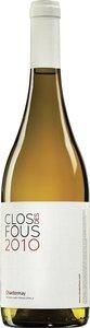 Clos Des Fous Chardonnay 2010 Bottle