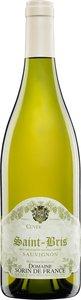 Domaine Sorin Defrance Saint Bris Sauvignon 2009 Bottle