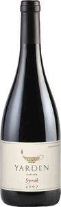 Yarden Syrah 2010, Golan Heights Bottle