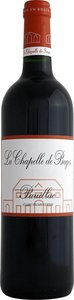 La Chapelle De Bages 2009 Bottle