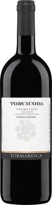 Tormaresca Torcicoda Primitivo 2011, Unfiltered, Igt Salento Bottle