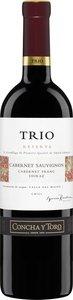 Trio Reserva Cabernet Sauvignon Shiraz Cabernet Franc 2011 Bottle