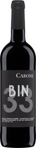 Carone Vineyard Bin 33 2012 Bottle