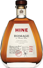 Hine Homage Grand Cru Fine Champagne Cognac Bottle