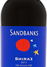 Sandbanks Shiraz 2011, VQA Ontario Bottle