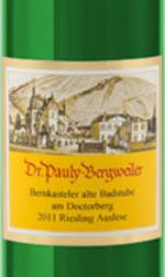 Dr. Pauly Bergweiler Bernkasteler Alte Badstube Am Doctorberg Riesling Auslese 2011, Mosel Bottle