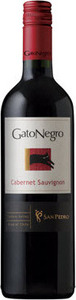 San Pedro Gato Negro Cabernet Sauvignon 2011, Central Valley Bottle