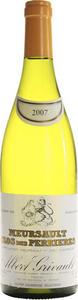 Albert Grivault Meursault Premier Cru Clos Des Perrières 2009 Bottle