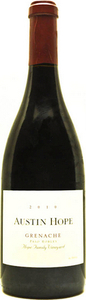 Austin Hope Grenache 2011, Paso Robles Bottle