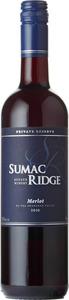 Sumac Ridge Merlot Private Reserve 2010, Okanagan Valley Bottle