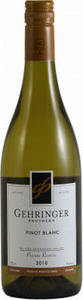 Gehringer Brothers Pinot Blanc Private Reserve 2011 Bottle