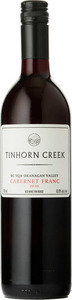 Tinhorn Creek Cabernet Franc 2011, BC VQA Okanagan Valley Bottle