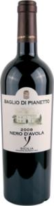 Baglio Di Pianetto Nero D'avola 2011, Igt Sicilia Bottle