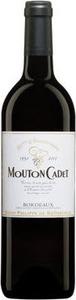 Mouton Cadet Rouge 2011, Bordeaux Bottle