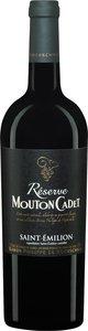 Rothschild Mouton Cadet Réserve 2011, Saint émilion Bottle