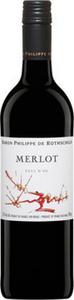 Philippe De Rothschild Merlot 2012, Pays D'oc Bottle