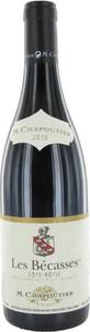 M. Chapoutier Les Bécasses Côte Rôtie 2010 Bottle