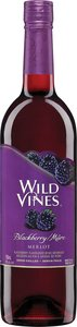 Wild Vines Blackberry Merlot Bottle